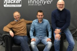 Innoflyer's visit to Hacker Motors